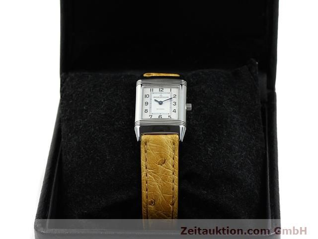 Used luxury watch Jaeger Le Coultre Reverso steel quartz Kal. 657 Ref. 260.8.47  | 140844 07