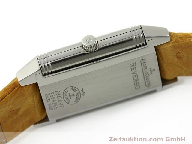 Used luxury watch Jaeger Le Coultre Reverso steel quartz Kal. 657 Ref. 260.8.47  | 140844 08