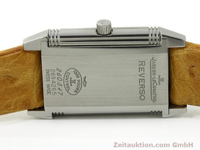 Used luxury watch Jaeger Le Coultre Reverso steel quartz Kal. 657 Ref. 260.8.47  | 140844 09