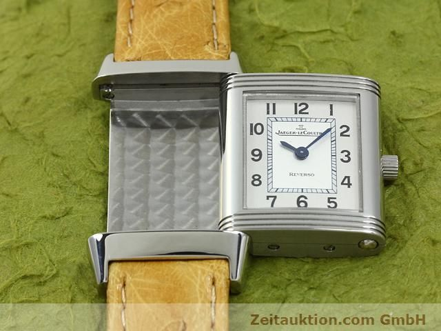 Used luxury watch Jaeger Le Coultre Reverso steel quartz Kal. 657 Ref. 260.8.47  | 140844 11