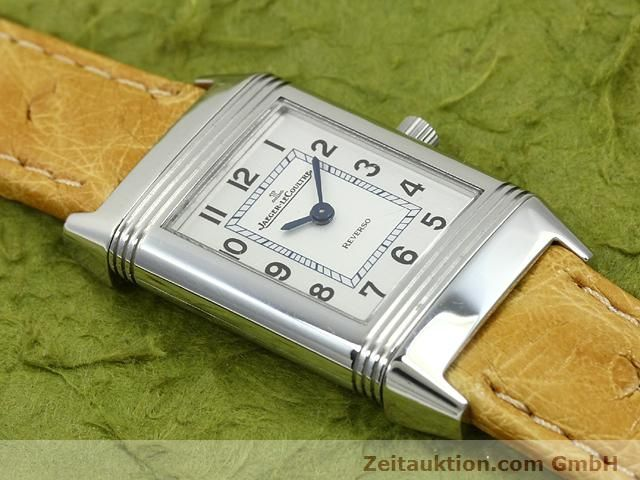 Used luxury watch Jaeger Le Coultre Reverso steel quartz Kal. 657 Ref. 260.8.47  | 140844 12