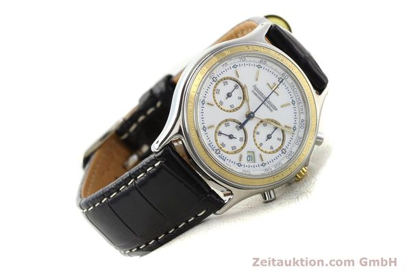montre de luxe d occasion Jaeger Le Coultre Heraion chronographe acier / or  quartz Kal. 630 Ref. 115.5.31  | 140846 03