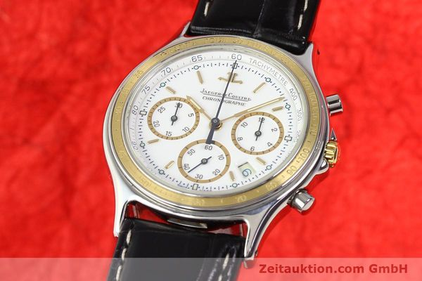 montre de luxe d occasion Jaeger Le Coultre Heraion chronographe acier / or  quartz Kal. 630 Ref. 115.5.31  | 140846 04