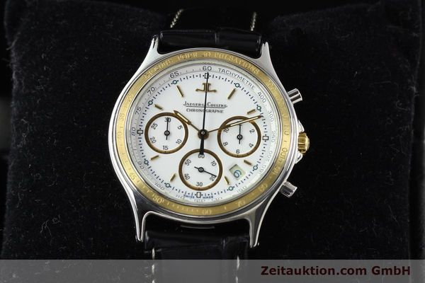 montre de luxe d occasion Jaeger Le Coultre Heraion chronographe acier / or  quartz Kal. 630 Ref. 115.5.31  | 140846 07