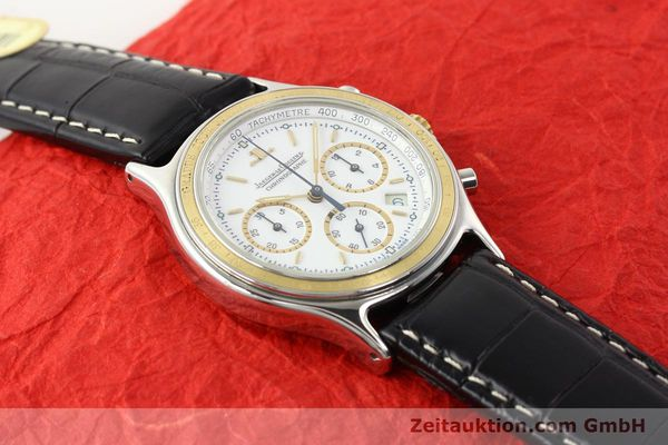 montre de luxe d occasion Jaeger Le Coultre Heraion chronographe acier / or  quartz Kal. 630 Ref. 115.5.31  | 140846 11