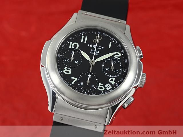 Used luxury watch Hublot MDM steel automatic Kal. ETA 2892A2 Ref. 1810  | 140849 04