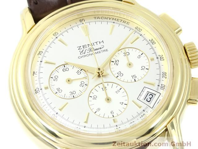 Used luxury watch Zenith Elprimero 18 ct gold automatic Kal. 400 Ref. 14/30  | 140851 02