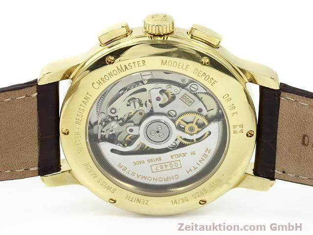 Used luxury watch Zenith Elprimero 18 ct gold automatic Kal. 400 Ref. 14/30  | 140851 09