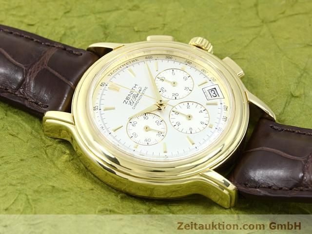 Used luxury watch Zenith Elprimero 18 ct gold automatic Kal. 400 Ref. 14/30  | 140851 12