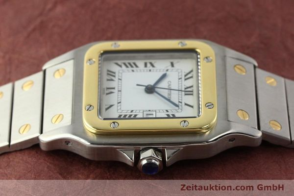 Used luxury watch Cartier Santos steel / gold automatic  | 140852 05