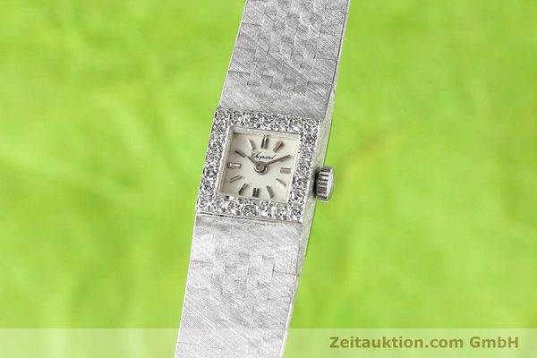 Used luxury watch Chopard * 18 ct white gold manual winding  | 140855 04