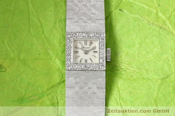 Used luxury watch Chopard * 18 ct white gold manual winding  | 140855 15