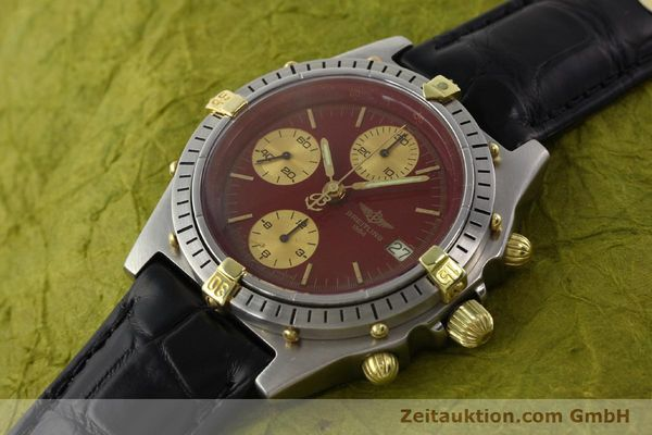Used luxury watch Breitling Chronomat gilt steel automatic Kal. Valj 7750 Ref. 51397  | 140859 01