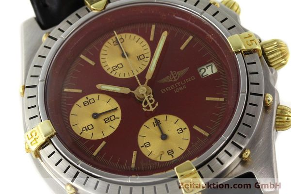 Used luxury watch Breitling Chronomat gilt steel automatic Kal. Valj 7750 Ref. 51397  | 140859 02