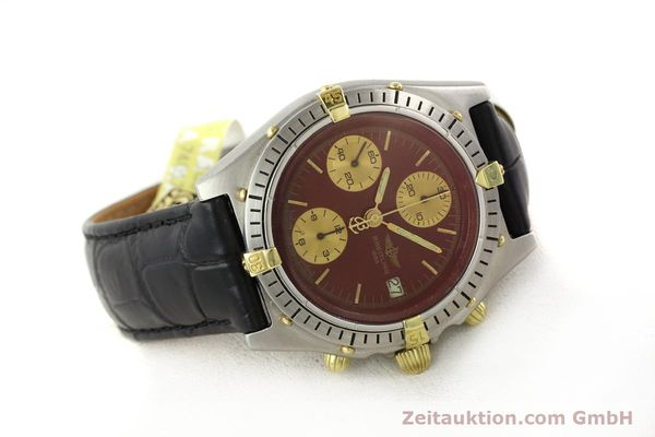 Used luxury watch Breitling Chronomat gilt steel automatic Kal. Valj 7750 Ref. 51397  | 140859 03