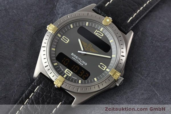 Used luxury watch Breitling Aerospace titanium / gold quartz Kal. ETA 988332 Ref. F56059  | 140860 01