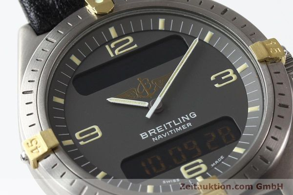 Used luxury watch Breitling Aerospace titanium / gold quartz Kal. ETA 988332 Ref. F56059  | 140860 02