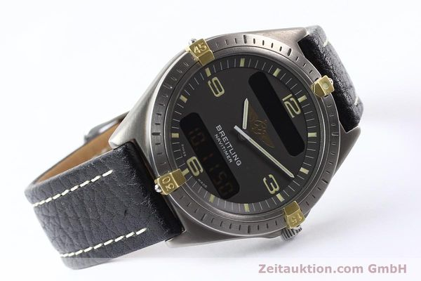 Used luxury watch Breitling Aerospace titanium / gold quartz Kal. ETA 988332 Ref. F56059  | 140860 03