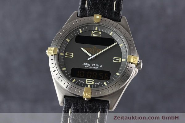 Used luxury watch Breitling Aerospace titanium / gold quartz Kal. ETA 988332 Ref. F56059  | 140860 04