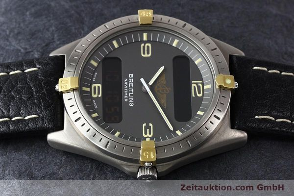 Used luxury watch Breitling Aerospace titanium / gold quartz Kal. ETA 988332 Ref. F56059  | 140860 05