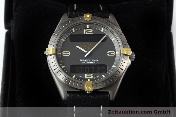 Used luxury watch Breitling Aerospace titanium / gold quartz Kal. ETA 988332 Ref. F56059  | 140860 07