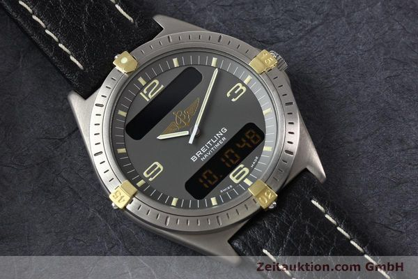 Used luxury watch Breitling Aerospace titanium / gold quartz Kal. ETA 988332 Ref. F56059  | 140860 13