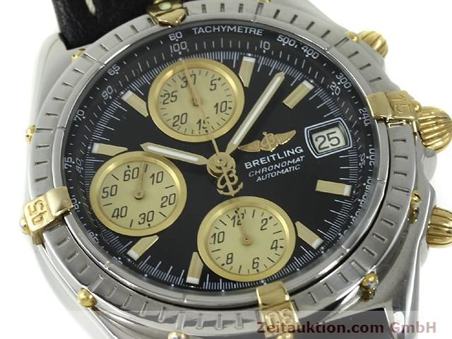 Used luxury watch Breitling Chronomat gilt steel automatic Kal. ETA 7750 Ref. B13048  | 140865 02
