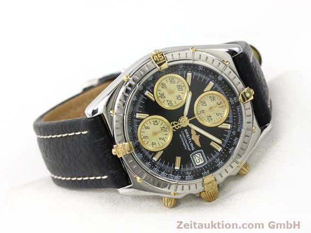 Used luxury watch Breitling Chronomat gilt steel automatic Kal. ETA 7750 Ref. B13048  | 140865 03