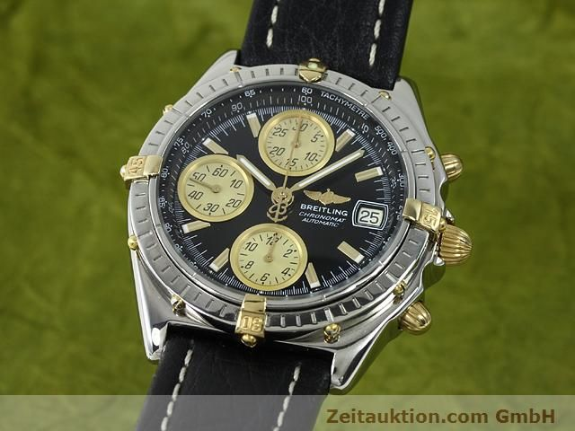 Used luxury watch Breitling Chronomat gilt steel automatic Kal. ETA 7750 Ref. B13048  | 140865 04