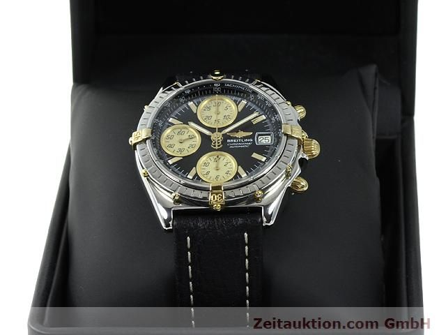 Used luxury watch Breitling Chronomat gilt steel automatic Kal. ETA 7750 Ref. B13048  | 140865 07