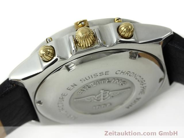 Used luxury watch Breitling Chronomat gilt steel automatic Kal. ETA 7750 Ref. B13048  | 140865 08