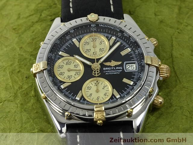 Used luxury watch Breitling Chronomat gilt steel automatic Kal. ETA 7750 Ref. B13048  | 140865 11