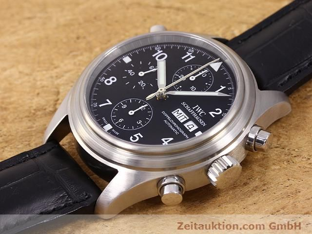 Used luxury watch IWC Doppelchronograph steel automatic Kal. C.79230 Ref. 3713  | 140872 01