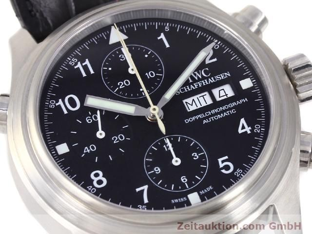 Used luxury watch IWC Doppelchronograph steel automatic Kal. C.79230 Ref. 3713  | 140872 02