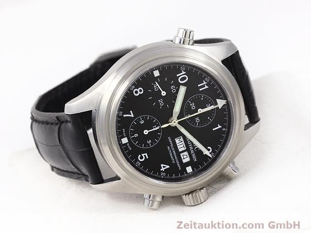 Used luxury watch IWC Doppelchronograph steel automatic Kal. C.79230 Ref. 3713  | 140872 03