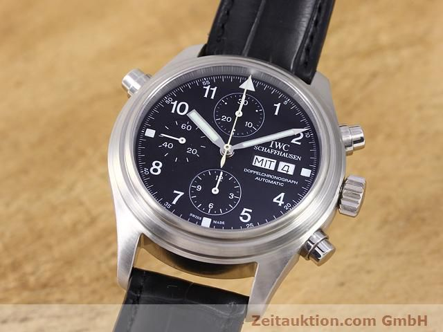 Used luxury watch IWC Doppelchronograph steel automatic Kal. C.79230 Ref. 3713  | 140872 04