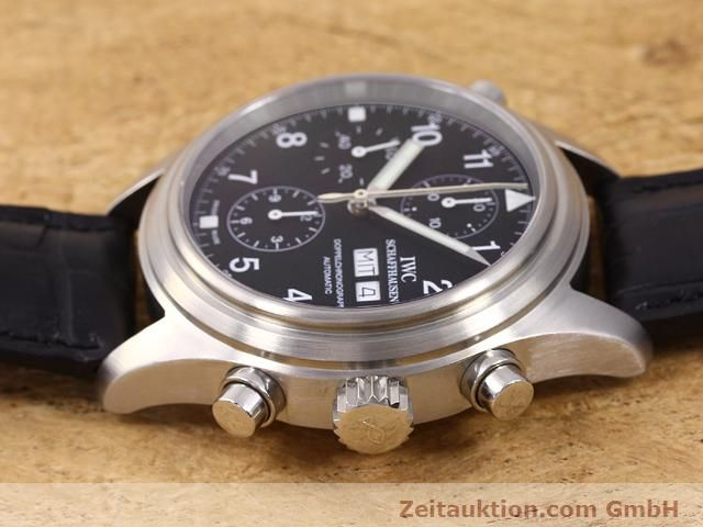 Used luxury watch IWC Doppelchronograph steel automatic Kal. C.79230 Ref. 3713  | 140872 05