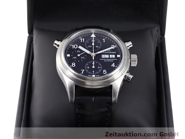 Used luxury watch IWC Doppelchronograph steel automatic Kal. C.79230 Ref. 3713  | 140872 07