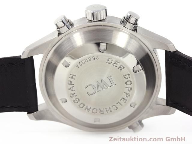 Used luxury watch IWC Doppelchronograph steel automatic Kal. C.79230 Ref. 3713  | 140872 08