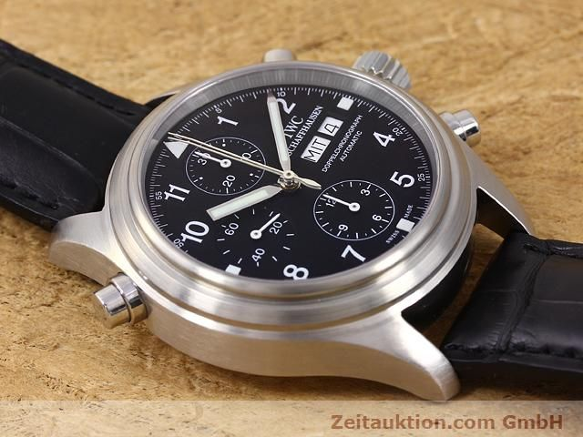 Used luxury watch IWC Doppelchronograph steel automatic Kal. C.79230 Ref. 3713  | 140872 14