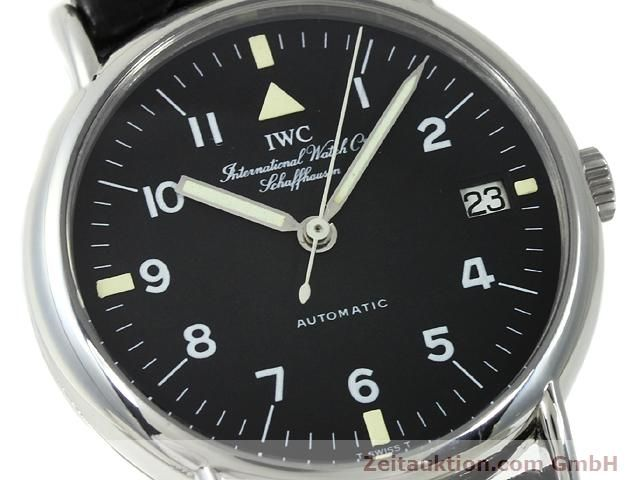 Used luxury watch IWC Portofino steel automatic Kal. C.37521 Ref. 3513  | 140874 02