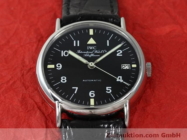 Used luxury watch IWC Portofino steel automatic Kal. C.37521 Ref. 3513  | 140874 14