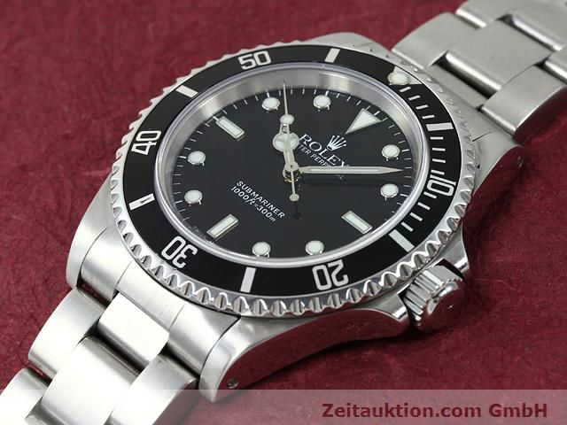 Used luxury watch Rolex Submariner steel automatic Kal. 3000 Ref. 14060  | 140875 01