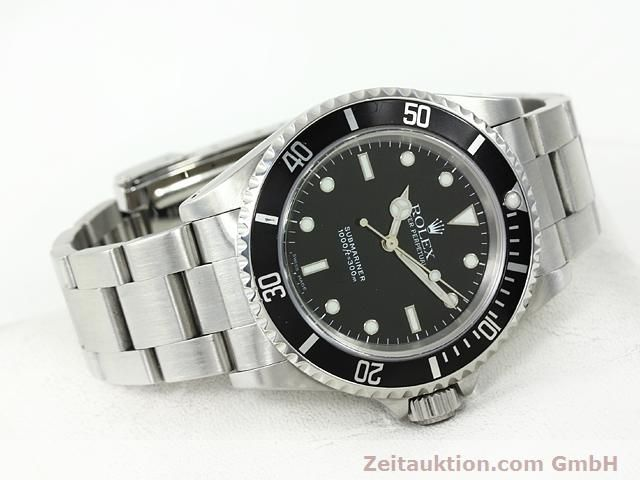 Used luxury watch Rolex Submariner steel automatic Kal. 3000 Ref. 14060  | 140875 03