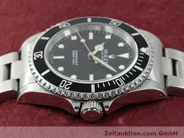 Used luxury watch Rolex Submariner steel automatic Kal. 3000 Ref. 14060  | 140875 05