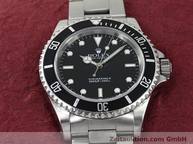 Used luxury watch Rolex Submariner steel automatic Kal. 3000 Ref. 14060  | 140875 15
