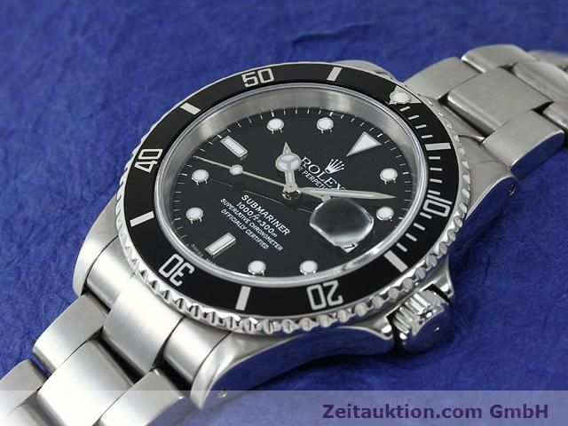 Used luxury watch Rolex Submariner steel automatic Kal. 3135 Ref. 16610  | 140878 01