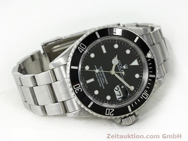 Used luxury watch Rolex Submariner steel automatic Kal. 3135 Ref. 16610  | 140878 03
