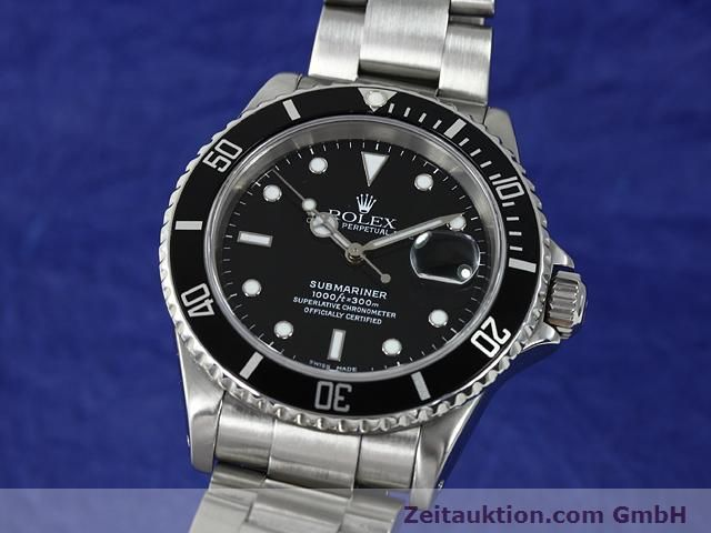 Used luxury watch Rolex Submariner steel automatic Kal. 3135 Ref. 16610  | 140878 04