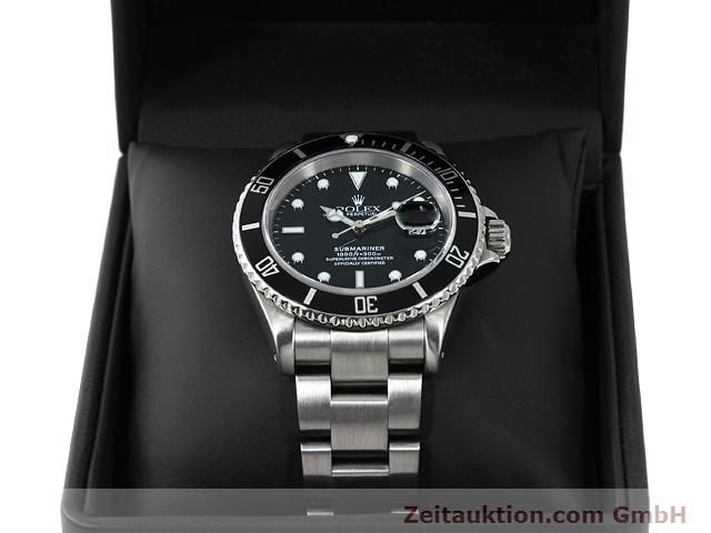 Used luxury watch Rolex Submariner steel automatic Kal. 3135 Ref. 16610  | 140878 07